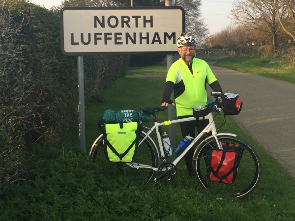 Tom Merrett's Charity Cycle Ride from Lands End to John O'Groats.