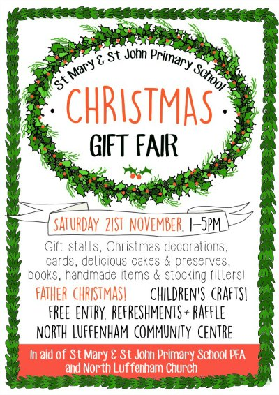Christmas gift fair poster 2015