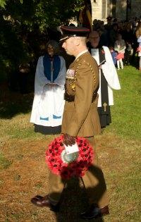 Lieutenant Colonel Stephen Foreman RLC, Commanding Officer 1 Military Working Dog Regiment