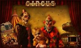 evil clown circus