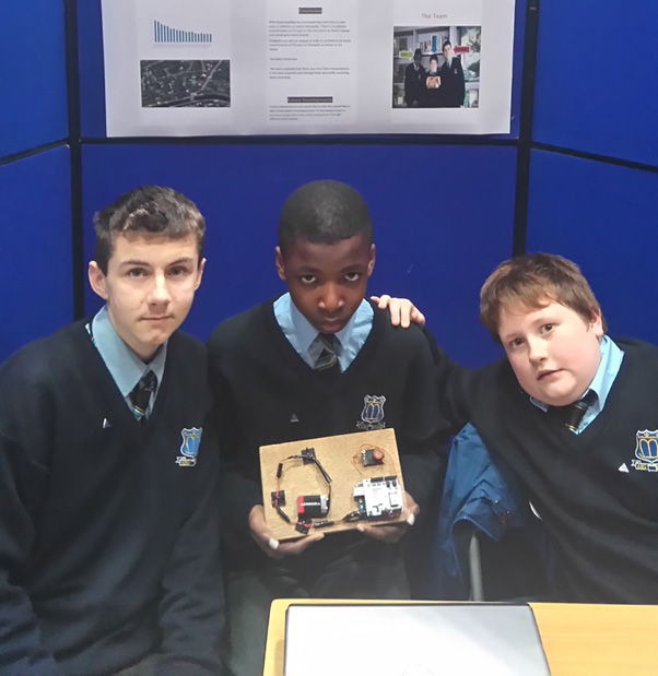 From left to right Jordan Woodgate, Paul Sunday and Daniel Dennehy