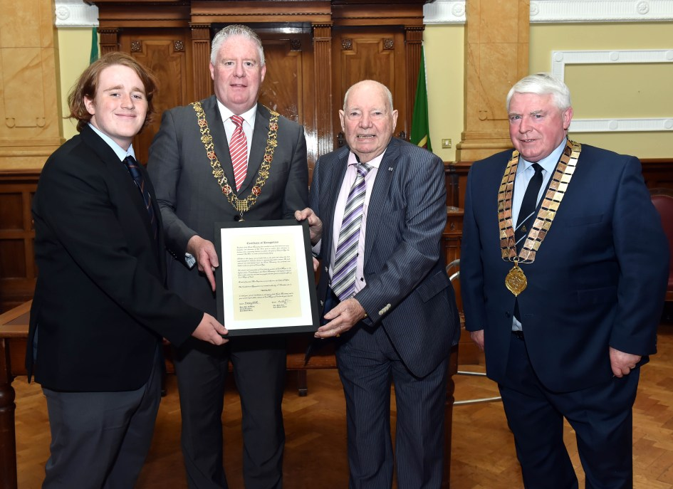 PPU Presentation to past Lord Mayor Tim Falvey, Fri 17th May 2019. - Copy