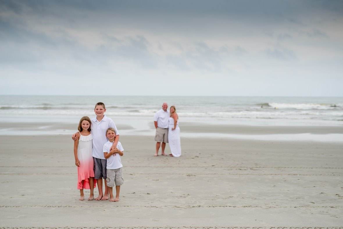 Family pictures in North Myrtle Beach