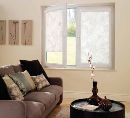 Perfect Fit Patterned Roller Blinds