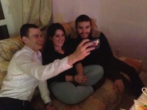...taken selfies...