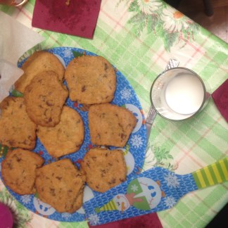 chocolate chip cookies. with 2%.