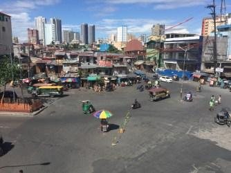 Overhead of Manila Neighborhood