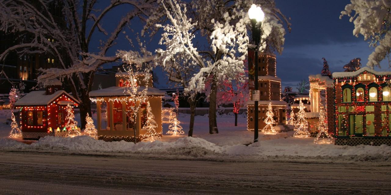 The Twinkling Lights of Christmas