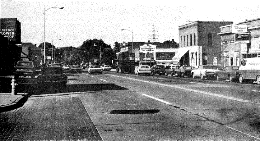 A pic of North 30th in Florence from 1975.