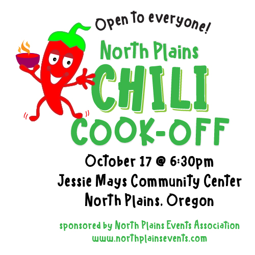 Dancing Chili Pepper at the North Plains Chili Cook-Off
