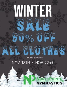 50% off all Clothes
