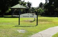 Townsville Council Park Sign