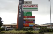 The Avenues Pylon Sign