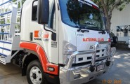 National Glass Townsville Truck Signs