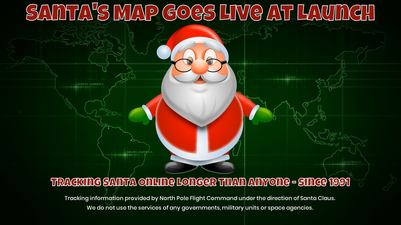 Santa Tracker Map