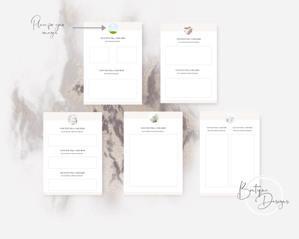 Workbook Canva Template