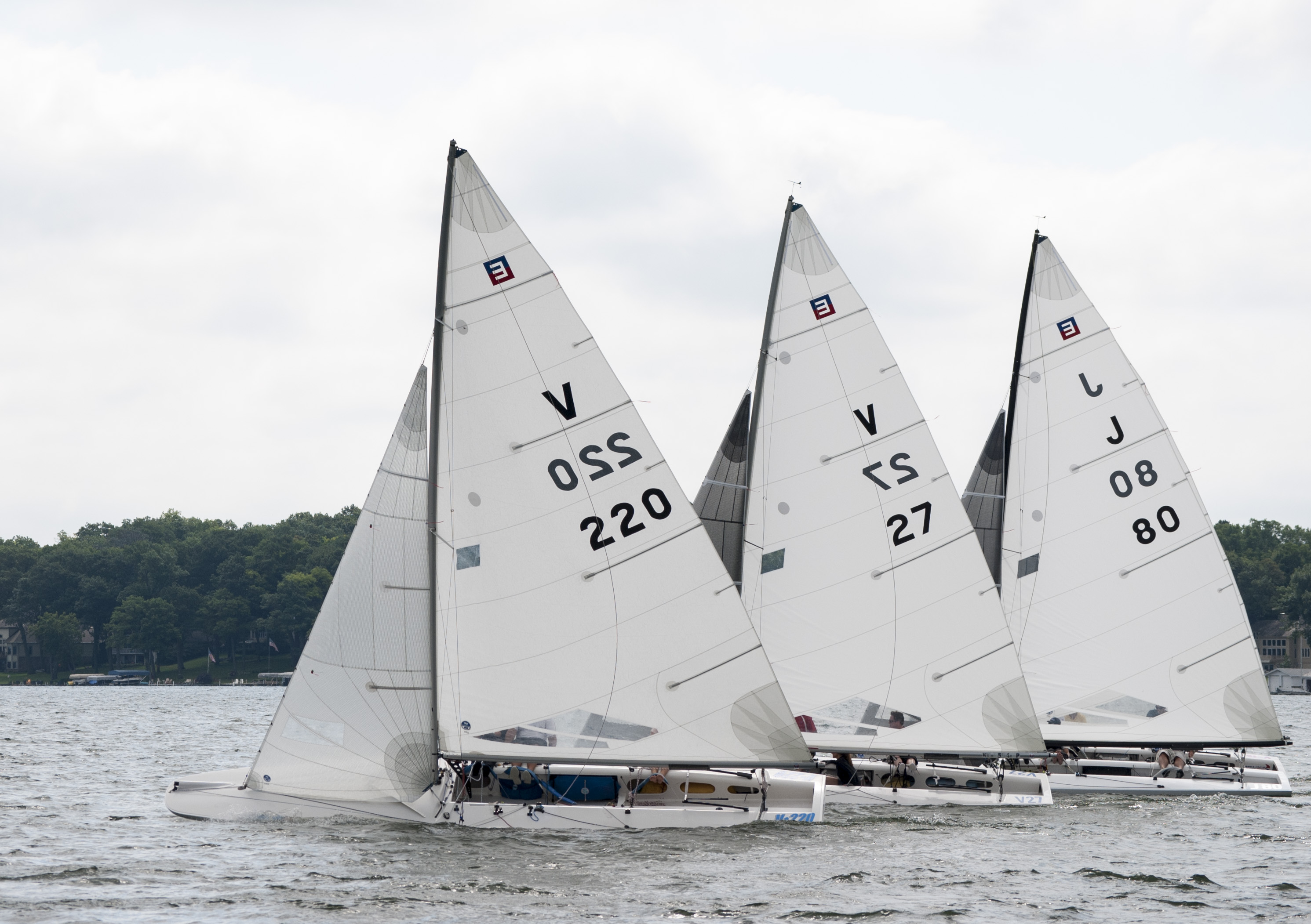2017 E Scow ILYA Invitational North Sails
