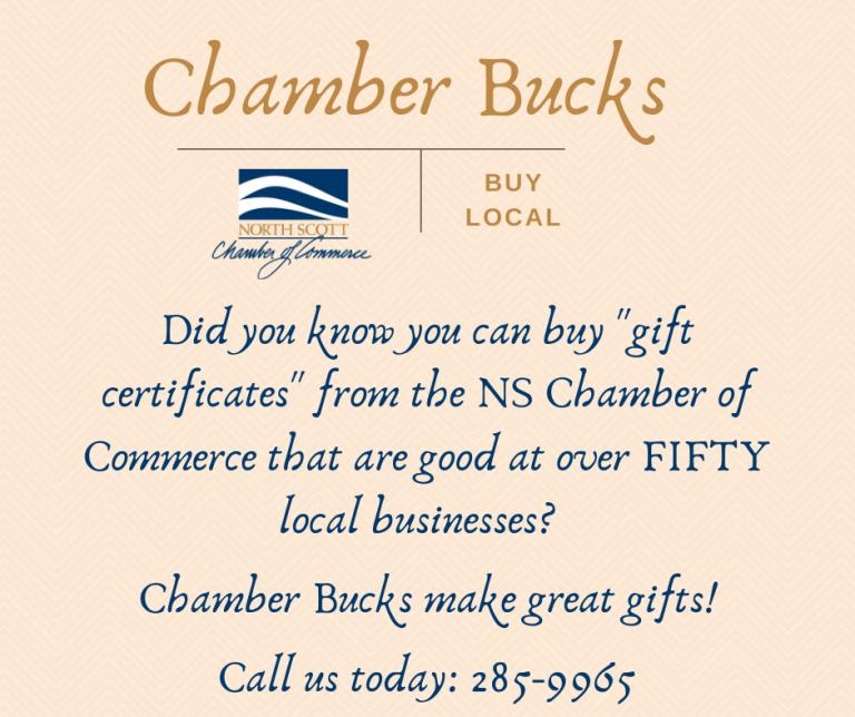 Chamber Bucks post