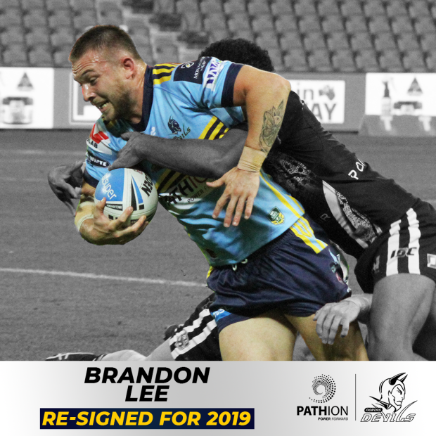 Brandon Lee Re-Signed