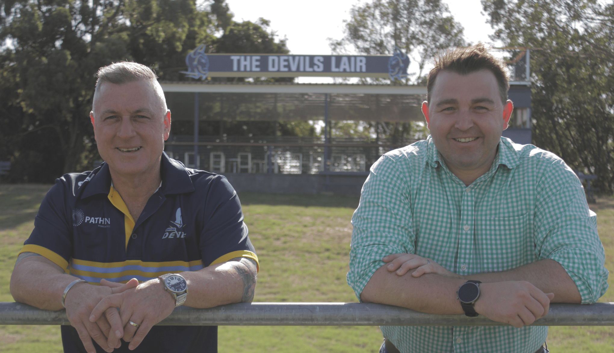 CEOs switch as Devils open Lair