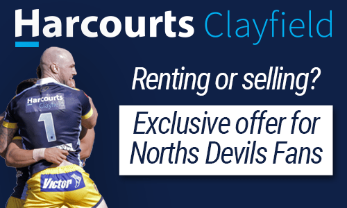 Harcourts Clayfield Norths Devils Promotion
