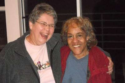 Lorraine with Dora Ellen