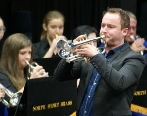 Harmen Vanhoorne in action with North Shore Brass at Contest Prelude today - sublime playing indeed.
