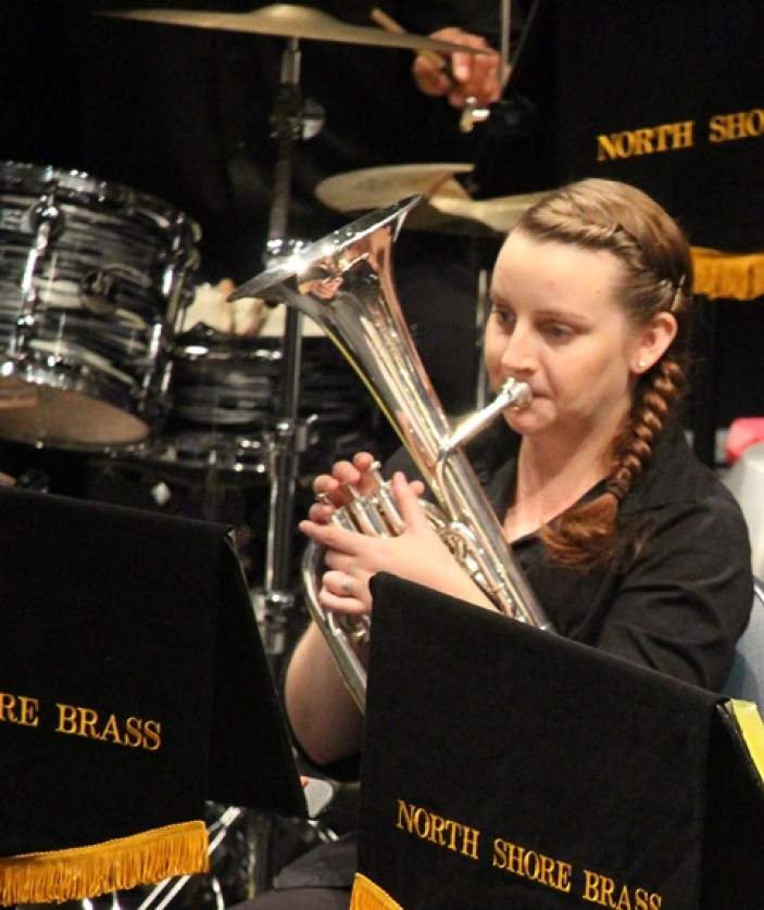 Bridget Clark - a study of concentration