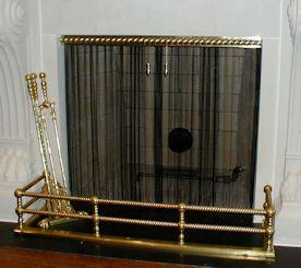 hanging fireplace screens evanston