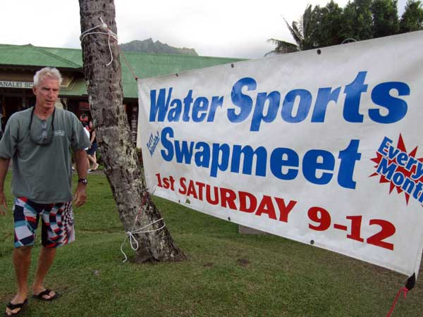 Water Sports Swapmeet in Hanalei