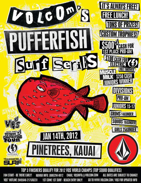 Pufferfish Surf Series - Pinetrees 2012