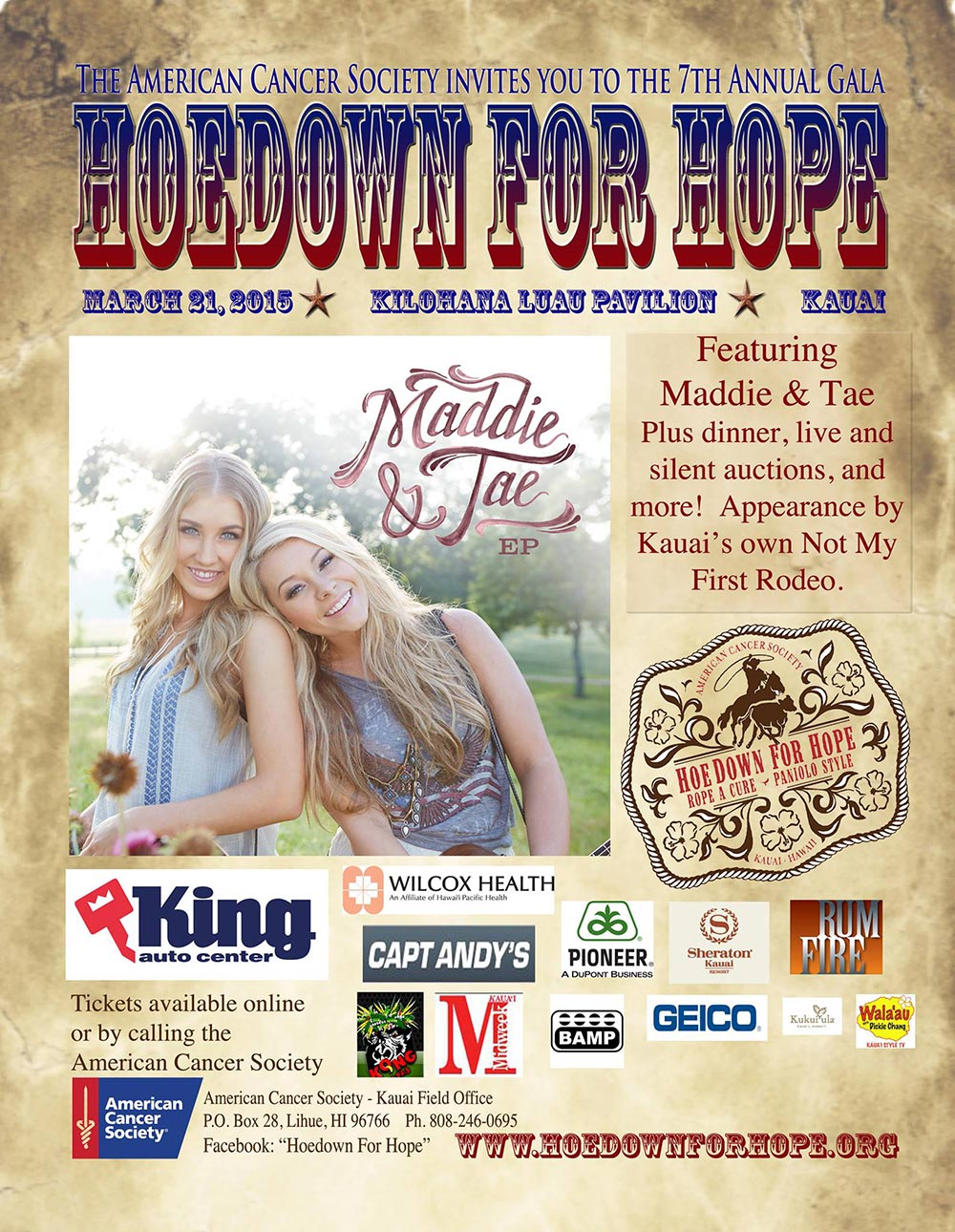7th Annual Hoedown for Hope