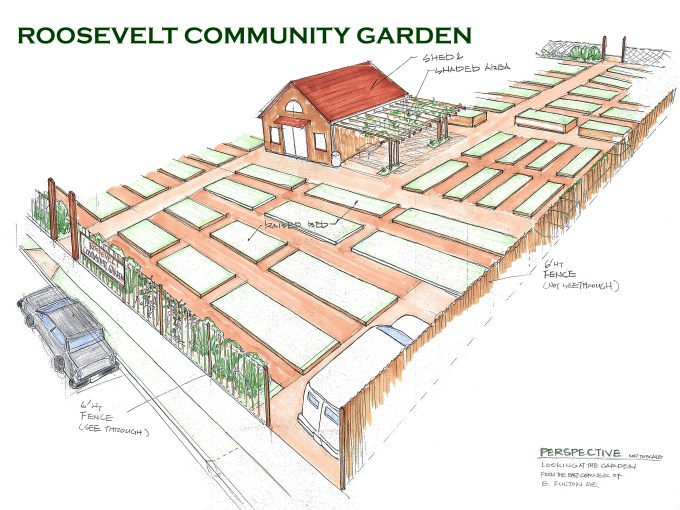 Roosevelt Community Garden Project - North Shore Land Alliance