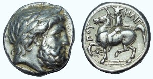 Kingdom of Macedon, Philip II AR Tetradrachm