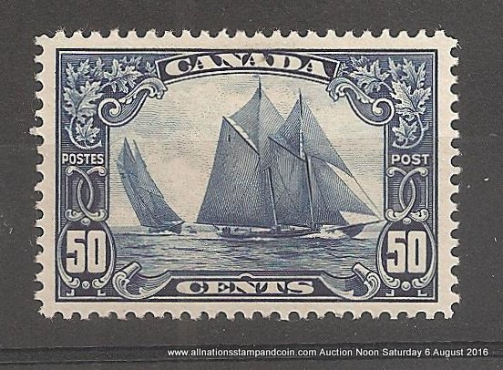 Bluenose stamp