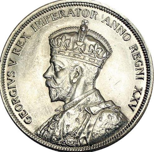 Percy Metcalfe obverse 1935 Canada Dollar