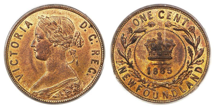 One Cent Newfoundland