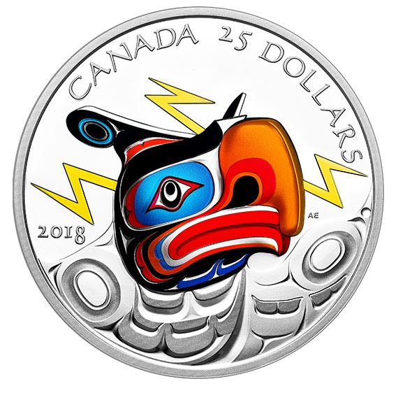 Royal Canadian Mint - Thunderbird by Andy Everson
