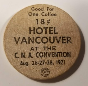 VNS Hotel Vancouver 1971