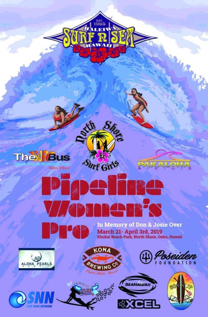 707f4e5cec North Shore Surf Girl s to Sponsor Pipeline Women s Pro in Memory of Don    Josie Over March 21 – April 3