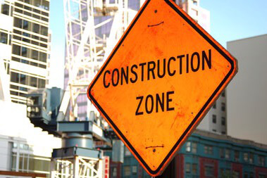 Construction Zones and Wedding Halls