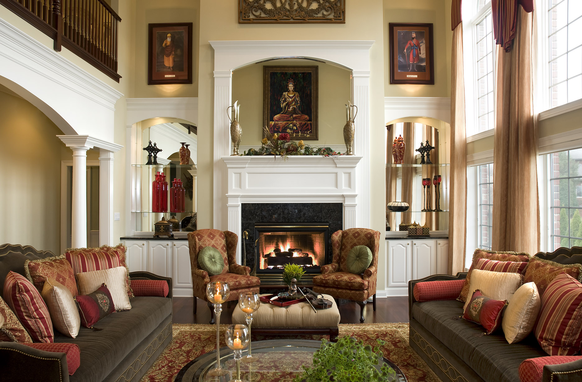 7 Steps to a BEAUTIFUL Living Room! | Northside Decorating ... on Beautiful Room Pics  id=24473