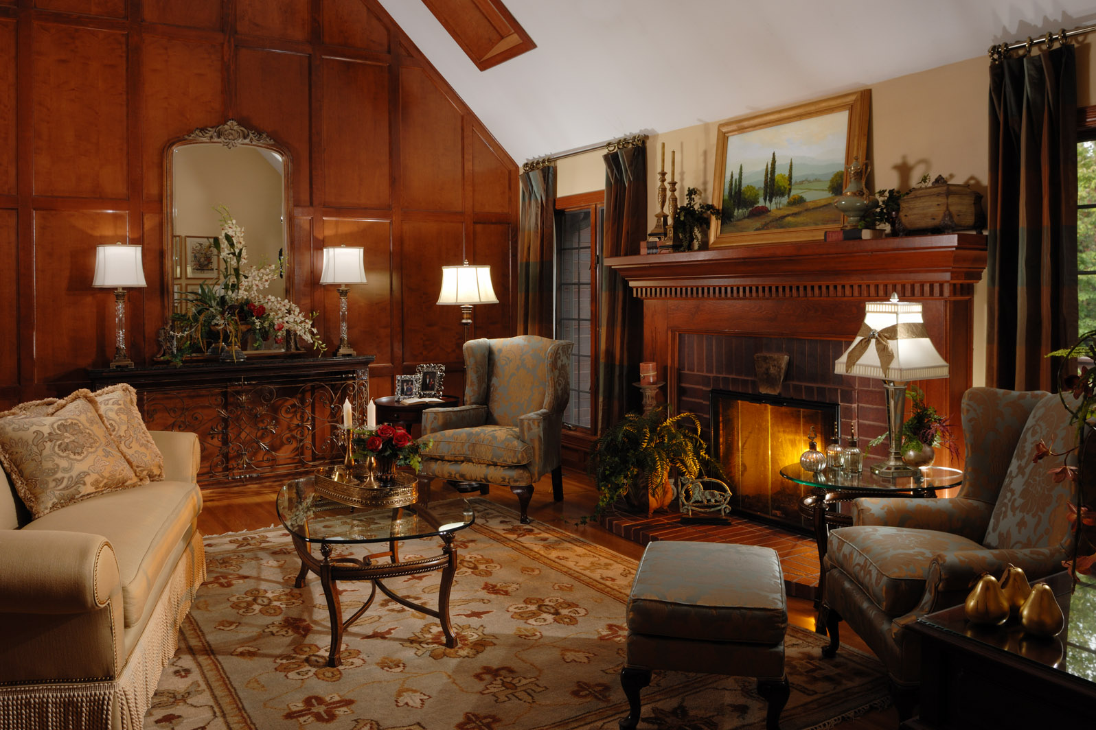 7 Steps to a BEAUTIFUL Living Room! | Northside Decorating ... on Beautiful Room Pics  id=46778