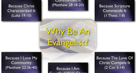 Why Be An Evangelist
