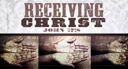 Receiving Christ