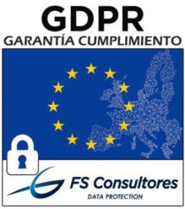 Garantía de cumplimiento en materia de protección de datos