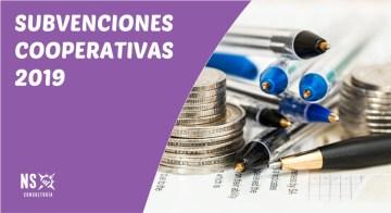 Subvenciones Cooperativas y Sociedades Laborales 2019