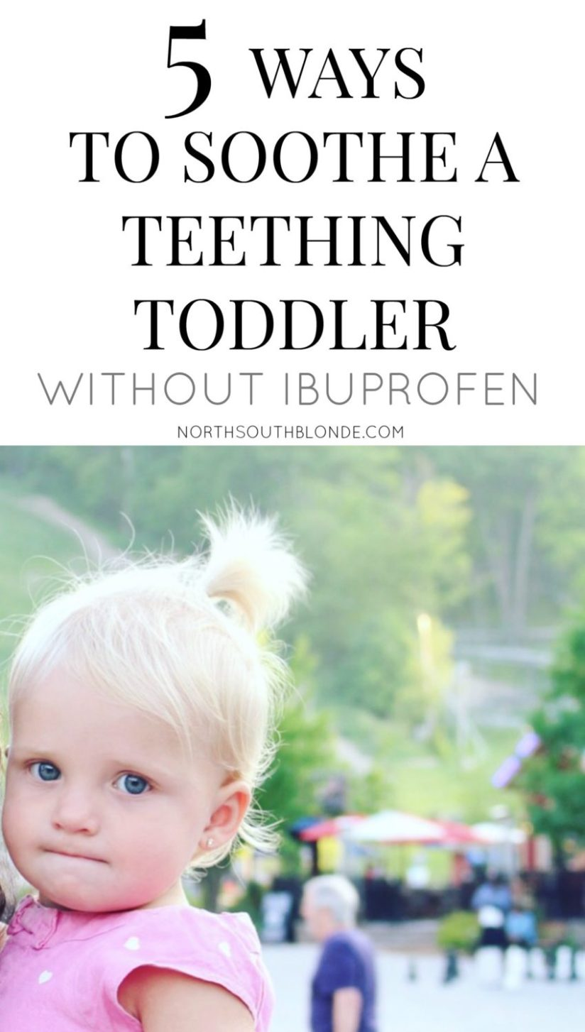 teething toddler