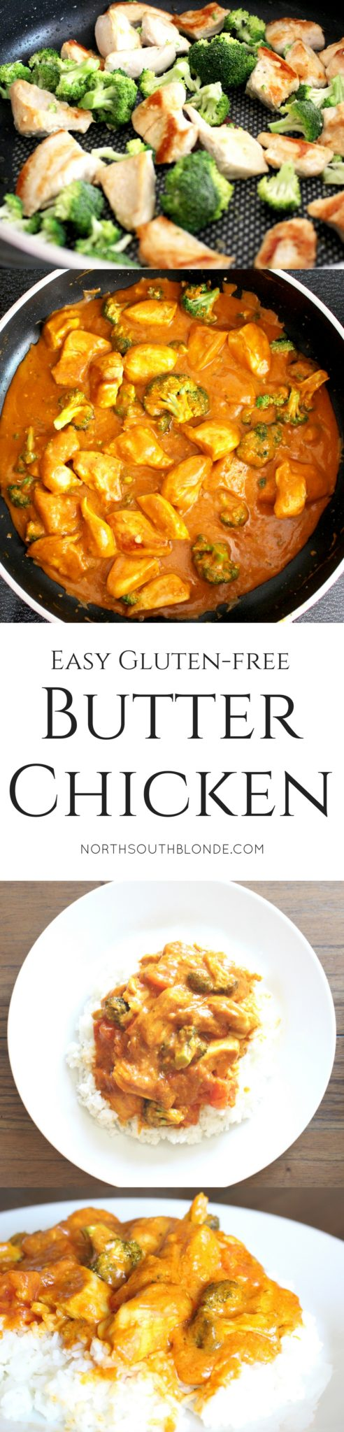 Easy gluten-free butter chicken