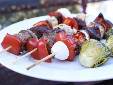 BBQ'd Kabobs (paleo, gluten-free)